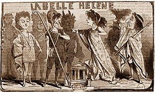 <i>La belle Hélène</i> opéra-bouffe in three acts