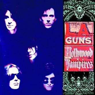 Hollywood Vampires (L.A. Guns album) - Image: Laguns hollywoodvampires
