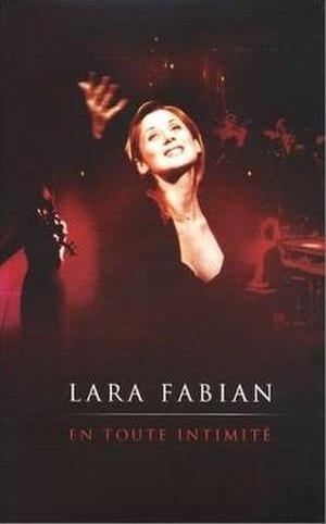En Toute Intimité - Image: Lara Fabian En Toute Intimite DVD Cover