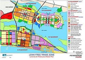 Lekki - Detailed plan for the Lekki Free Trade Zone