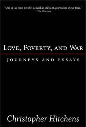 Love, Poverty, and War - Cover of the first edition