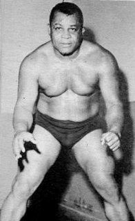 Luther Lindsay American professional wrestler