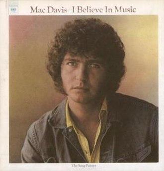 I Believe in Music (album) - Image: Mac Davis I Believe In Music