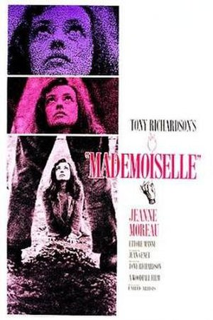 Mademoiselle (1966 film) - Theatrical release poster