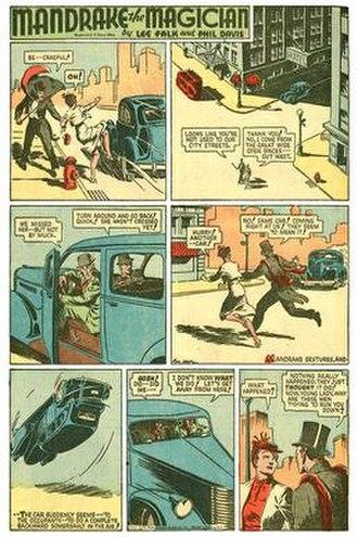 Mandrake the Magician - 1938 Mandrake comic