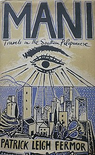 <i>Mani: Travels in the Southern Peloponnese</i> book by Patrick Leigh Fermor