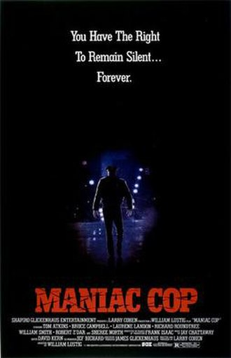 Maniac Cop - Theatrical poster