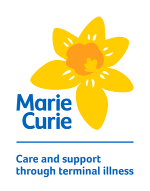 Marie Curie (charity) - Image: Marie Curie logo