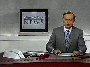 BBC News at One - BBC One O'Clock News with Martyn Lewis in 1986