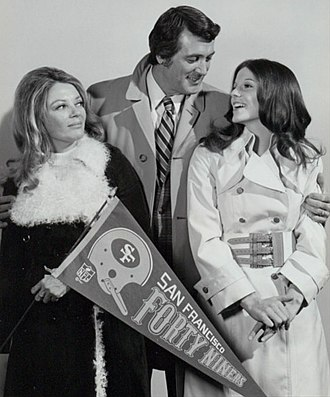 McMillan & Wife - Mac and Sally with Dr. Marion Voight (played by Sheree North), 1972.