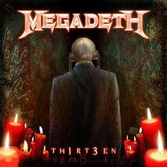 Thirteen (Megadeth album) - Image: Megadeth Thirteen