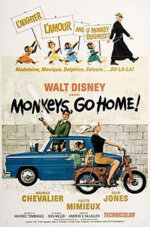 <i>Monkeys, Go Home!</i> 1967 film directed by Andrew V. McLaglen