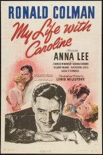 <i>My Life with Caroline</i> 1941 film by Lewis Milestone