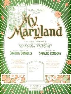 <i>My Maryland</i> musical