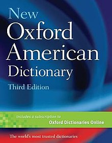 New Oxford American Dictionary, third edition (front cover).jpg