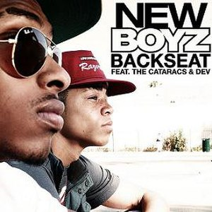 Backseat (song) - Image: Newboyz backseat+thecataracs dev
