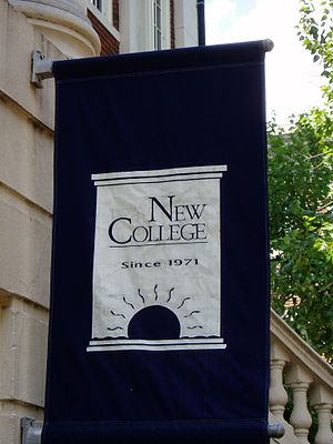 New College, University of Alabama - New College Banner