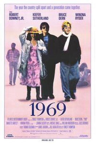 1969 (film) - Theatrical release poster