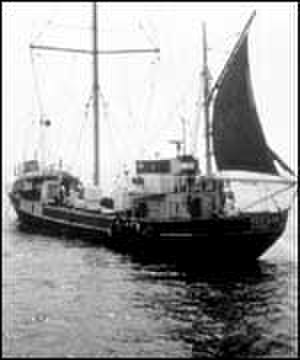 Radio 270 - Oceaan 7 off Scarborough in 1966
