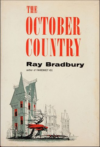 The October Country - Dust-jacket from the first edition