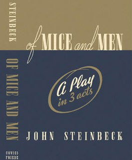 <i>Of Mice and Men</i> (play) Play by John Steinbeck