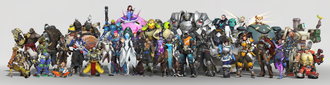 Development of Overwatch - The playable characters in Overwatch were meant to be a diverse cast, covering a broad range of genders and ethnicities, including non-human characters.