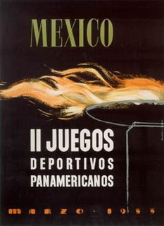 1955 Pan American Games second edition of the Pan American Games