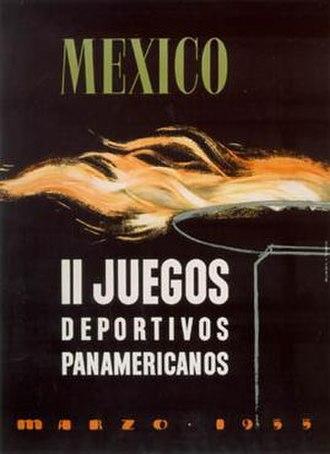1955 Pan American Games - Image: Pan am 1955