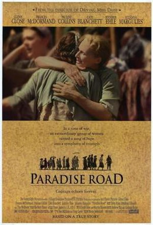 Paradise Road (1997 film) - Theatrical release poster