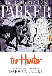 <i>Richard Starks Parker: The Hunter</i> book by Darwyn Cooke