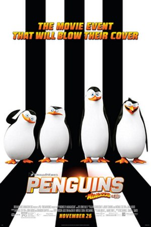Penguins of Madagascar - Theatrical release poster