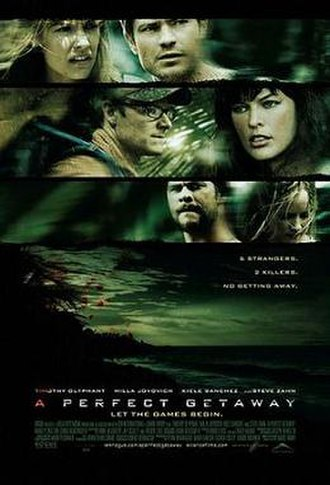 A Perfect Getaway - Theatrical release poster