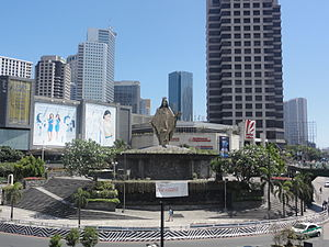EDSA Shrine - View of EDSA Shrine in Ortigas Center