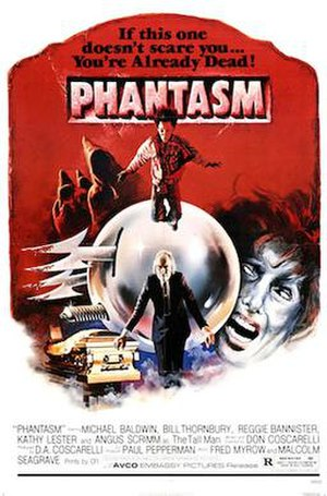 Phantasm (film) - Theatrical release poster