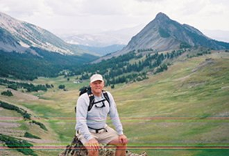 Phil Olsen (American football) - Image: Phil on Mountain Pass in Metcalf Wilderness (2)