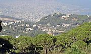 Pine Forests Overlooking Beirut, Lebanon