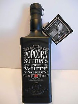 Popcorn Sutton - Image: Popcorn Sutton Tennessee White Whiskey