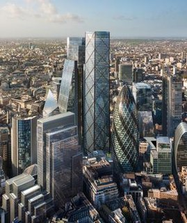 proposed skyscraper for the City of London financial district