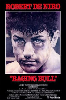 <i>Raging Bull</i> 1980 film directed by Martin Scorsese
