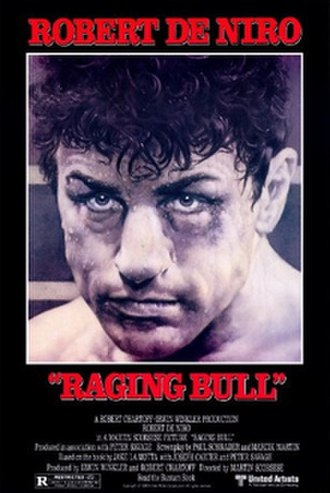 Raging Bull - Theatrical release poster by Tom Jung