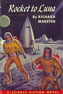 <i>Rocket to Luna</i> book by Evan Hunter
