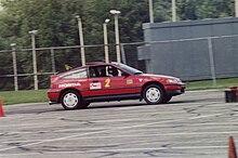 Honda CRX Si At An Autocross