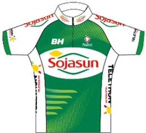 Sojasun (cycling team) - Image: Saur Sojasun jersey