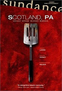 <i>Scotland, PA</i> 2001 tragedy film by William Morrissette