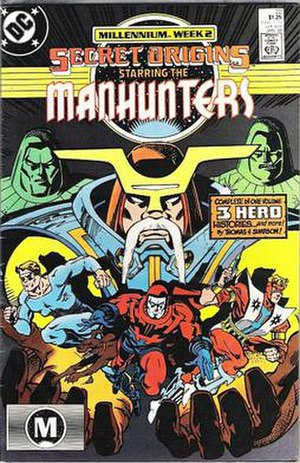 Manhunter (comics) - Image: Secretorigins manhunters