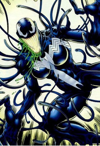Venom (Marvel Comics character) - Anne Weying as She-Venom. Art by Greg Luzniak.