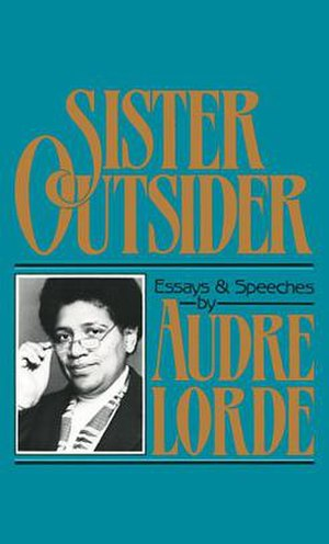Audre Lorde - Cover Image of Sister Outsider
