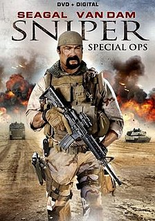 <i>Sniper: Special Ops</i> 2016 film by Fred Olen Ray