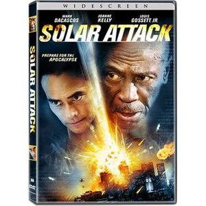 Solar Attack - DVD cover of Solar Attack (widescreen)
