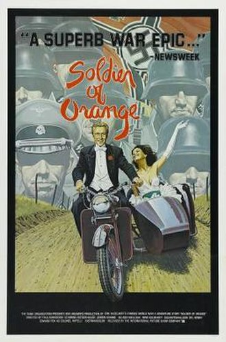 Soldier of Orange - American film poster